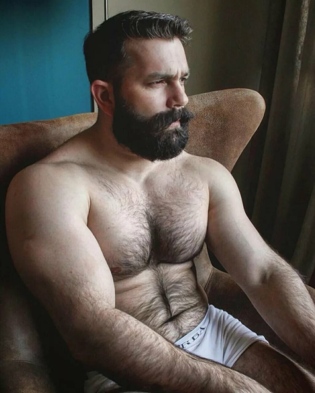 Perfect hairy dads