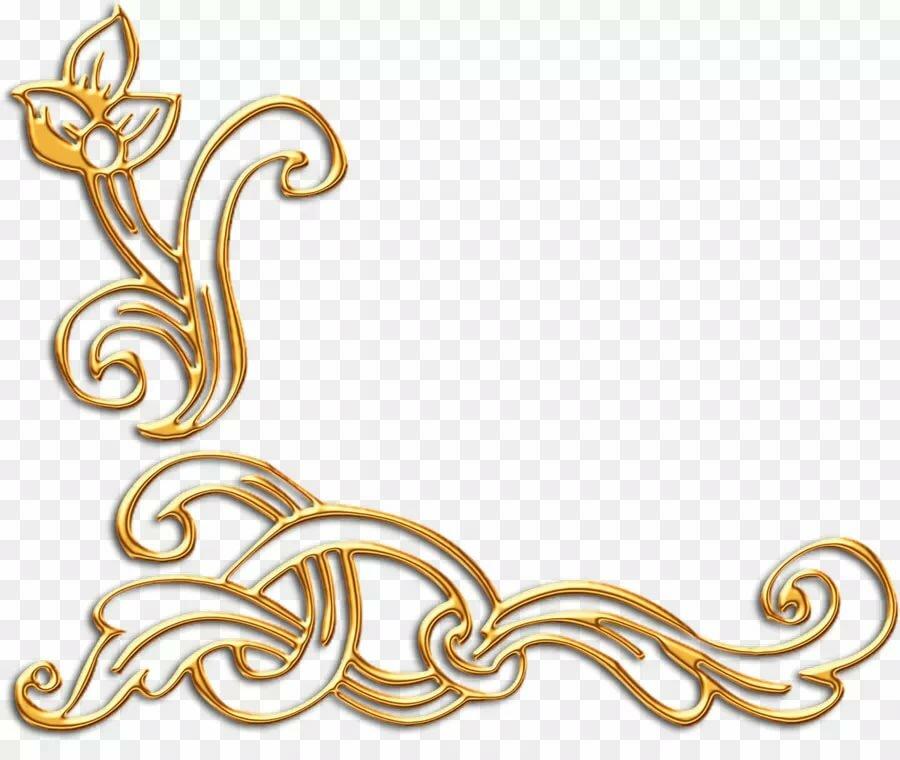 Золотые вставки картинки