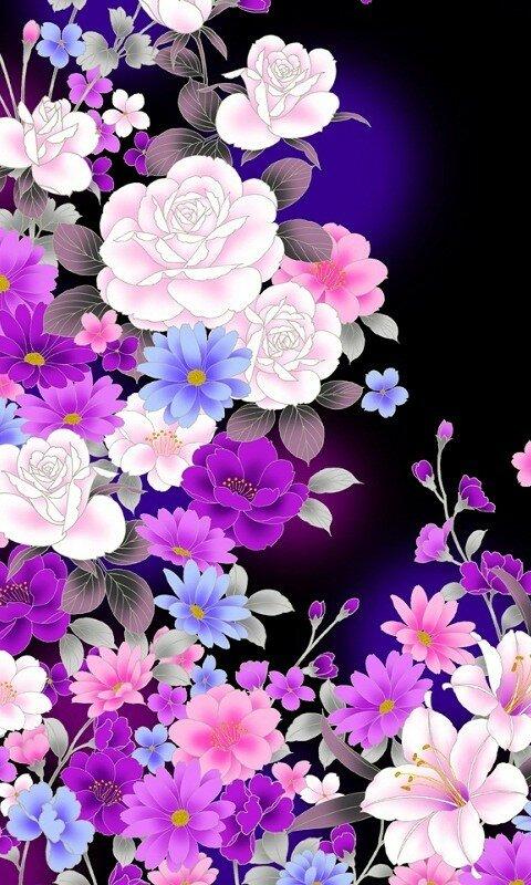 Картинки цветы на телефон новинки, добрым утром красивые