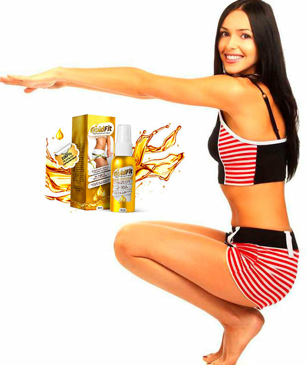 GoldFit спрей для похудения в Нижнекамске
