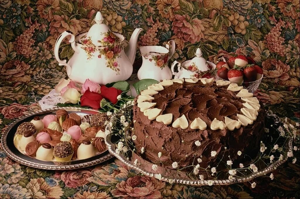 Тортик к чаю картинка