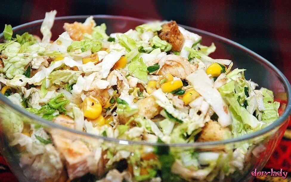 салат из китайской капусты рецепт с фото