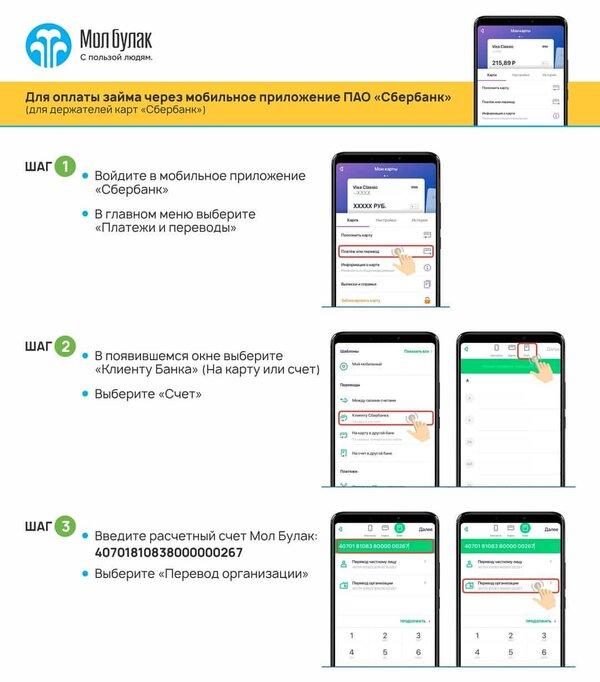 Молбулак банк в москве взять кредит