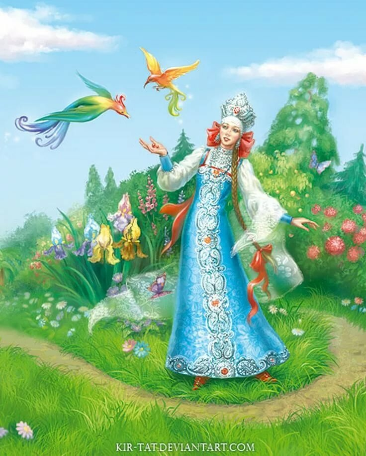 Картинки сказочной царицы