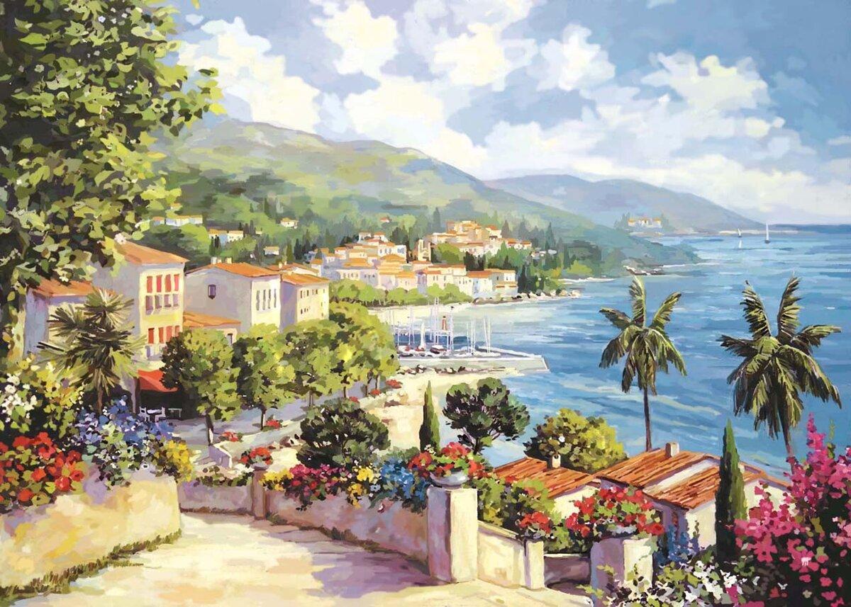 Картинки средиземноморский пейзаж