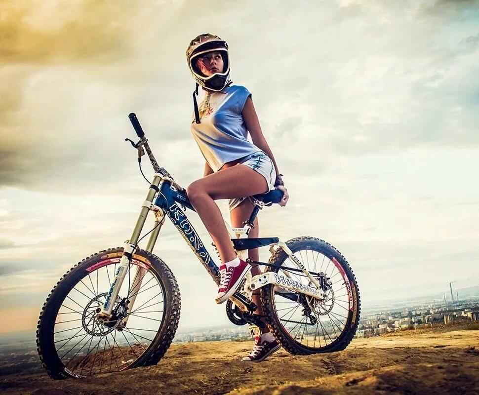 Крутые картинки с велосипедами