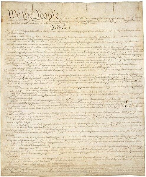 17 сентября 1787 года Конституционный конвент в Филадельфии принял Конституцию США