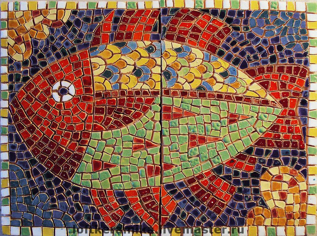 окончания картинки для мозаики из битой плитки отпускников, путешествующих