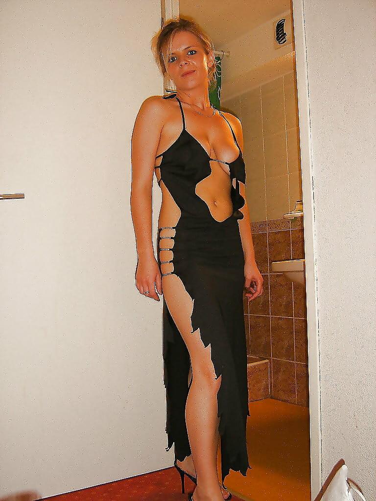 Dress night sexy wife