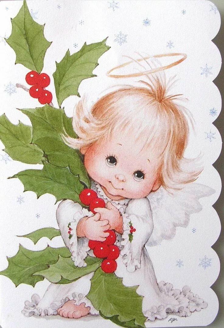 Ангел для малыша открытки, лиса волк