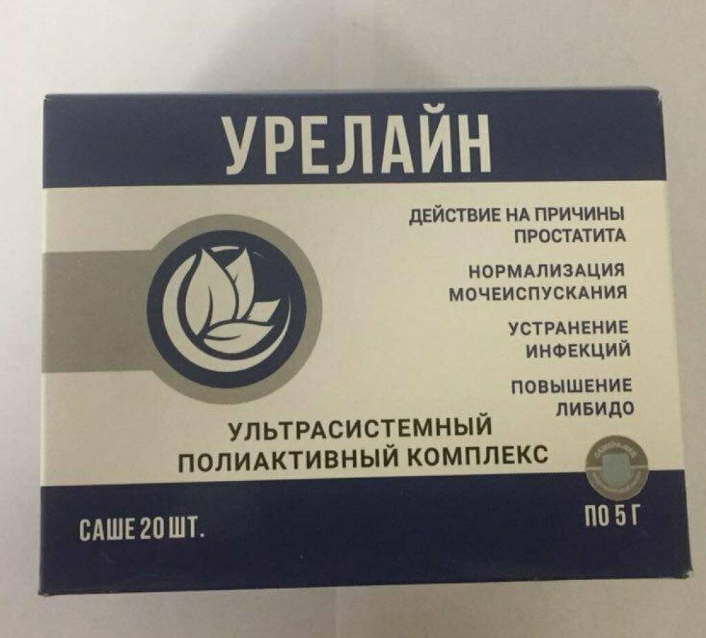 Урелайн - для потенции в Новосибирске