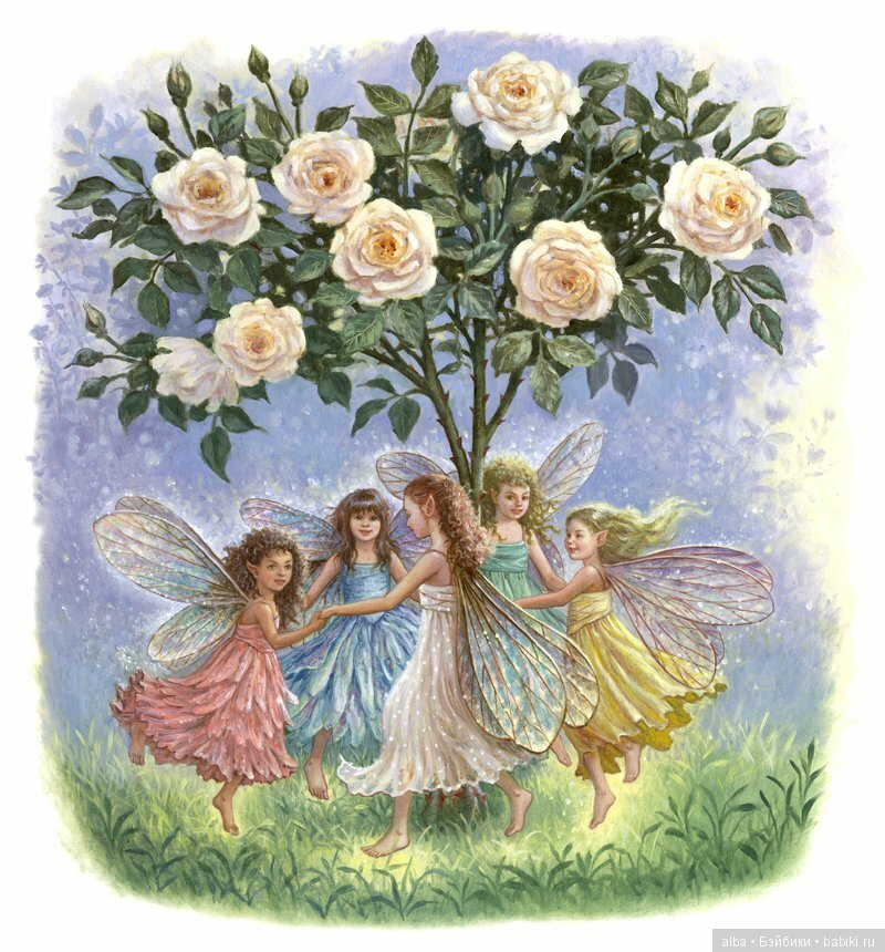 Танец с цветами картинки