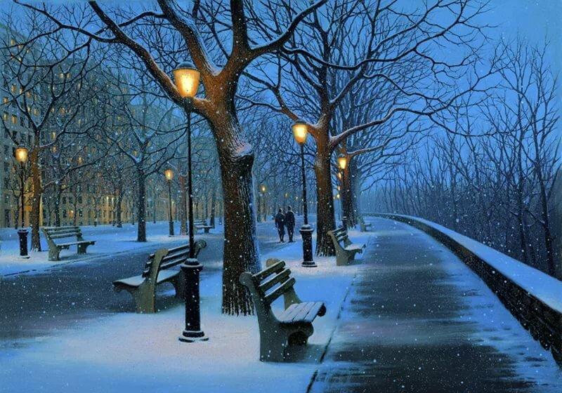 Картинки, гифы снега
