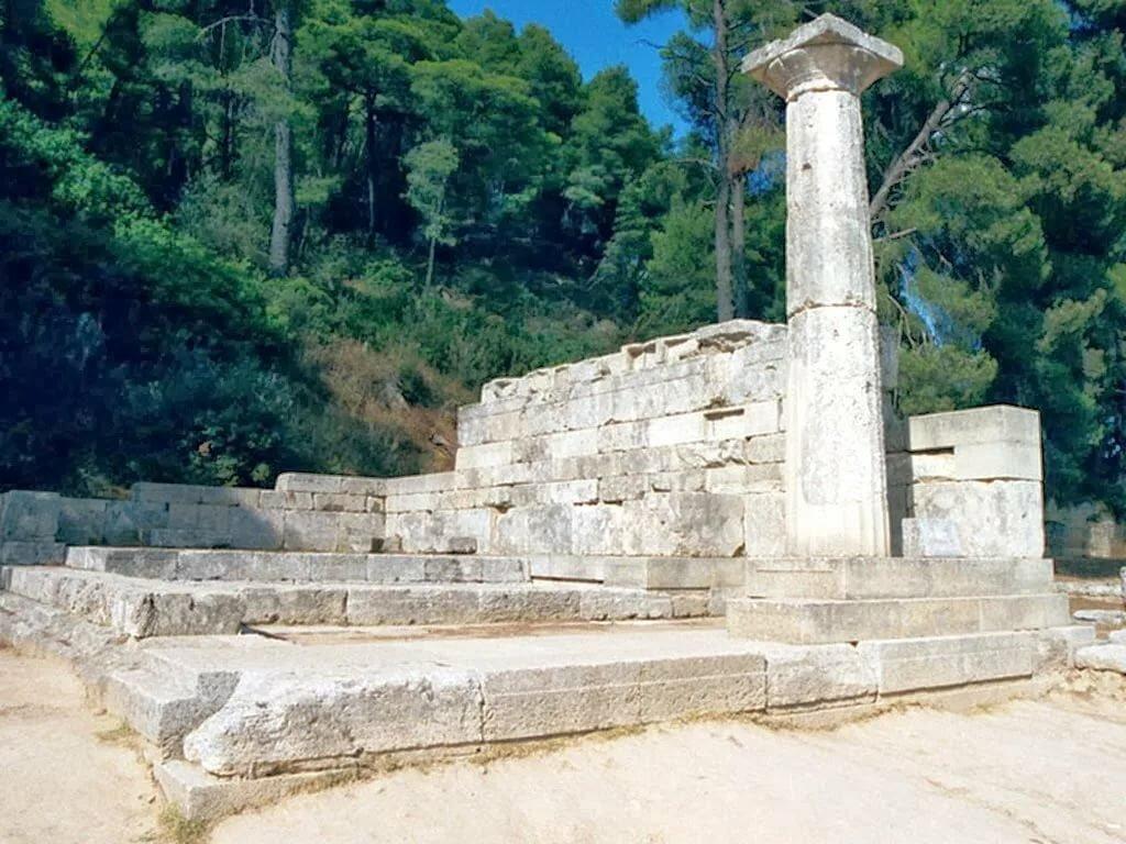 Часть гигантского комплекса в Олимпии