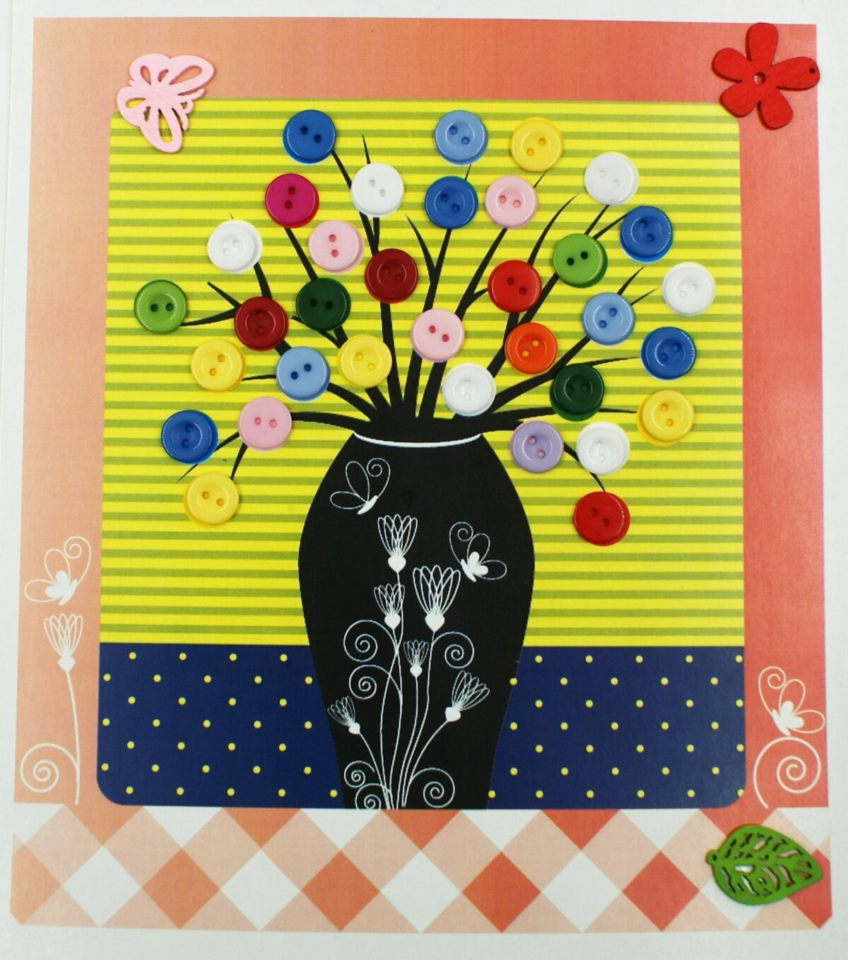 открытки с цветами из бархатной бумаги какие
