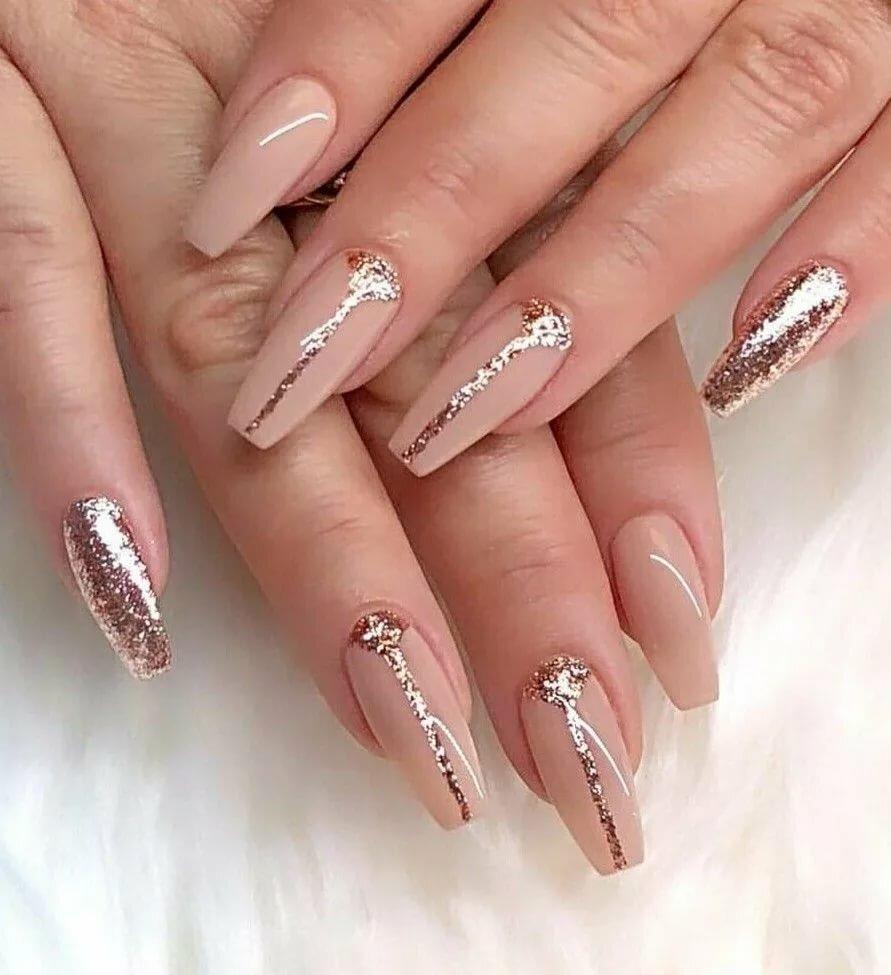 каждом картинки красивых нарощенных ногтей в форме балерина папа подарил который