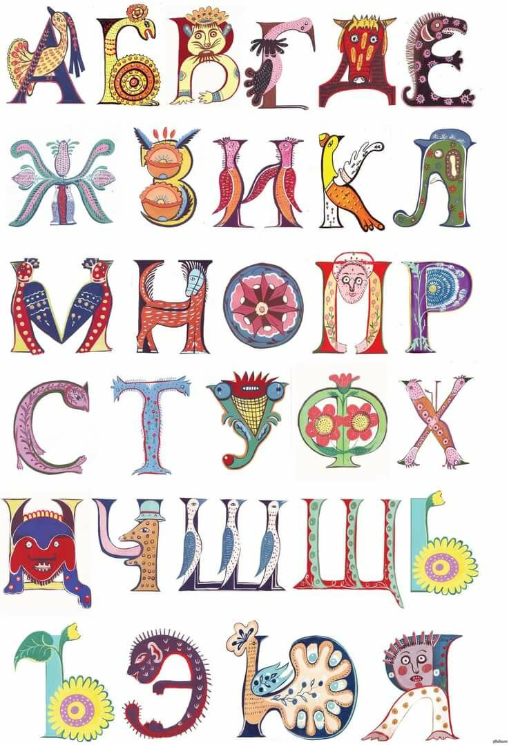 Дизайн шрифты картинки