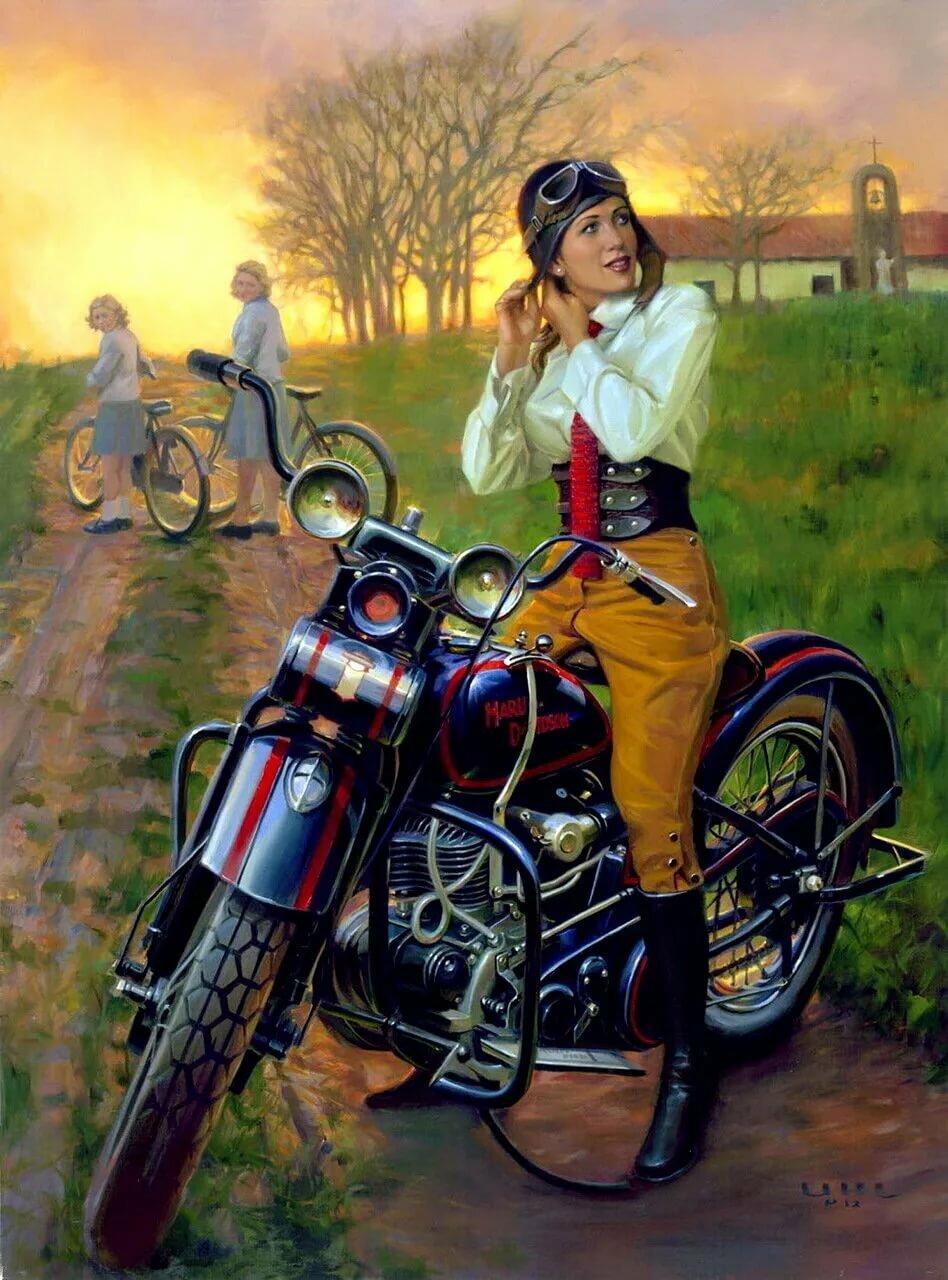 Американские картинки с мотоциклами