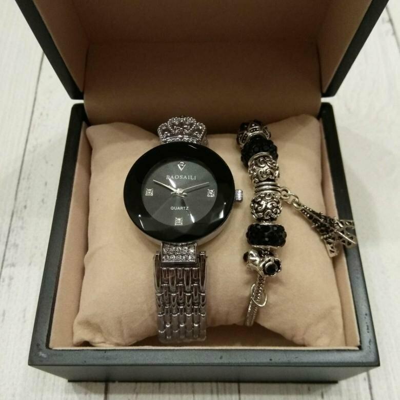 Часы Baosaili и браслет Pandora в подарок в Нальчике