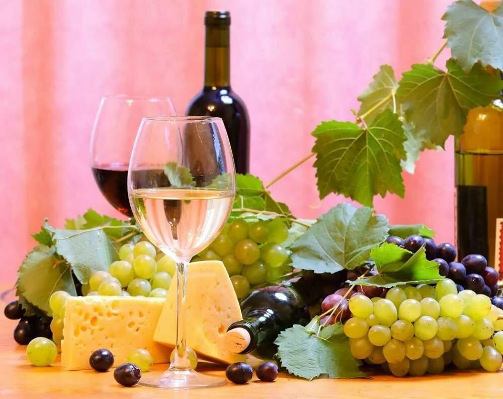 Днем, картинки угощаю вином