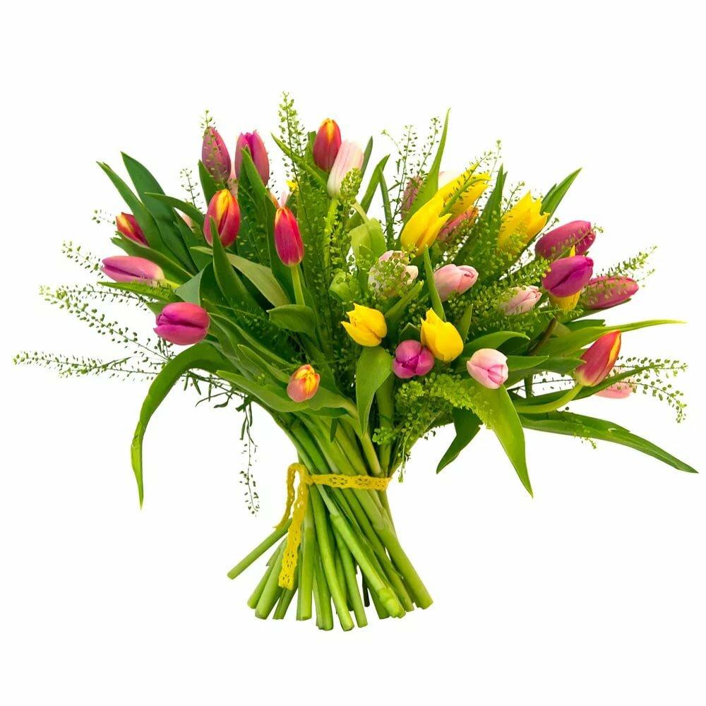 Букеты весенних цветов фото