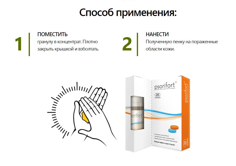 Psorifort от псориаза в Кировограде
