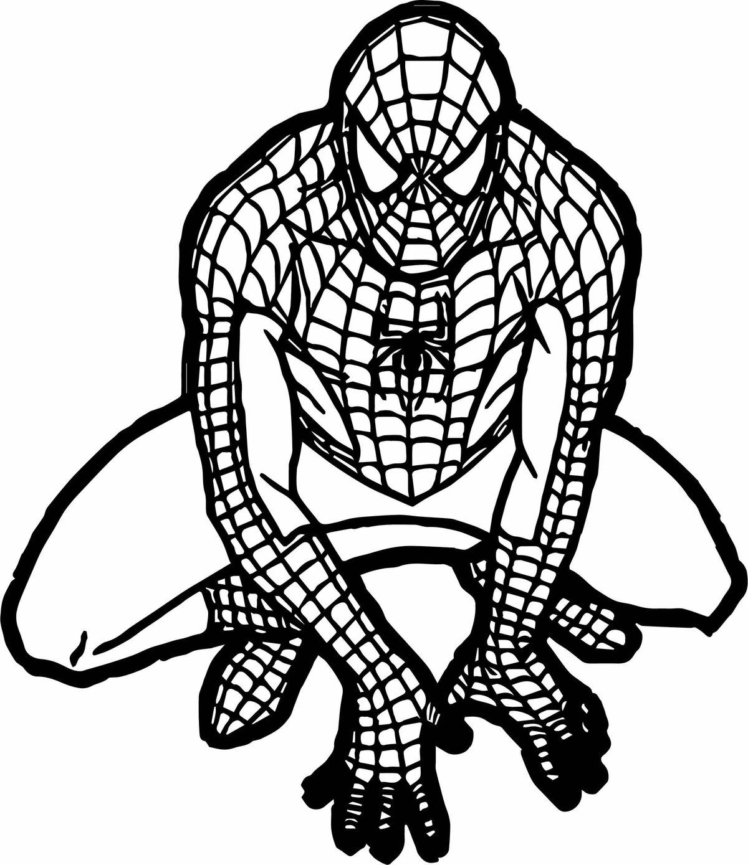 Картинка человек паук раскраска