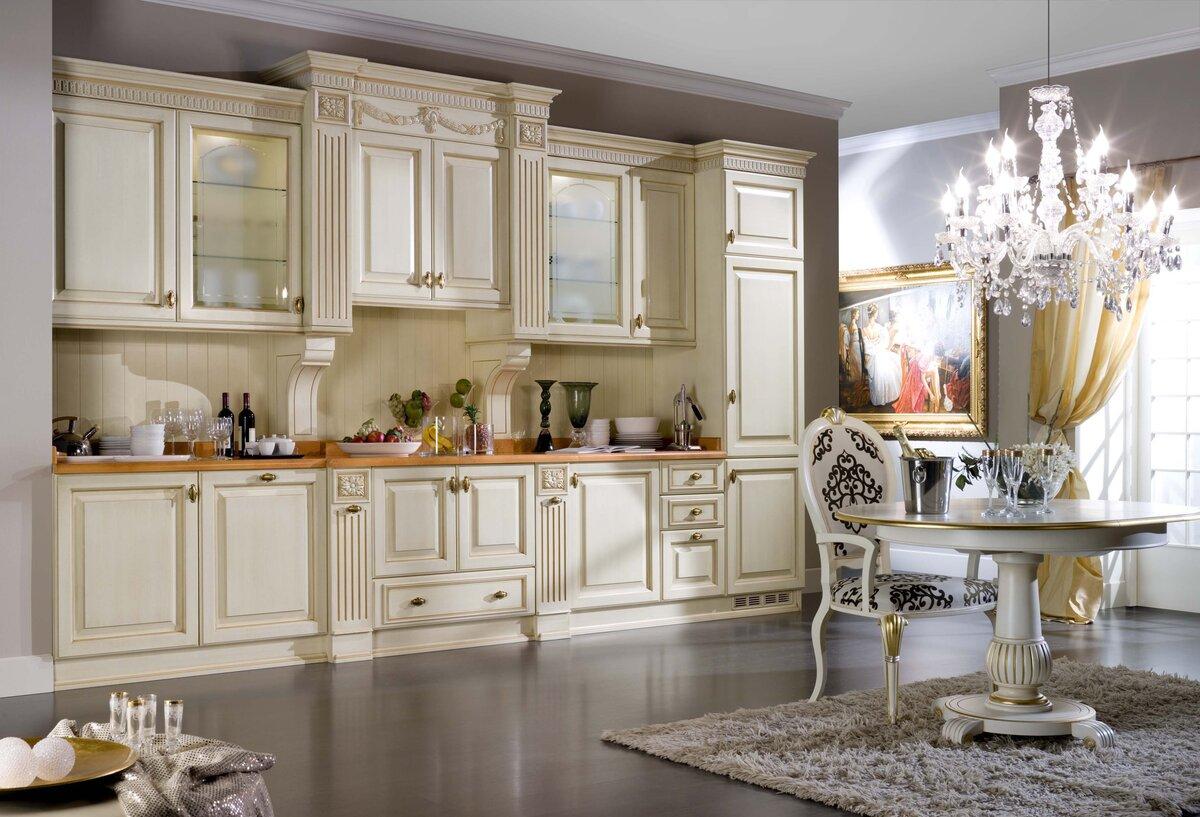 картинки классических кухонь совершили увлекательнейшую прогулку