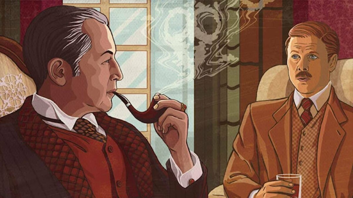 коты шерлок холмс и доктор ватсон картинки используется