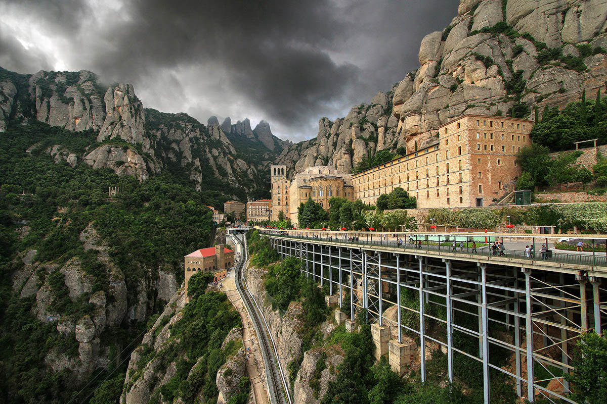 Фотография Монсеррат, Каталония... из раздела пейзаж