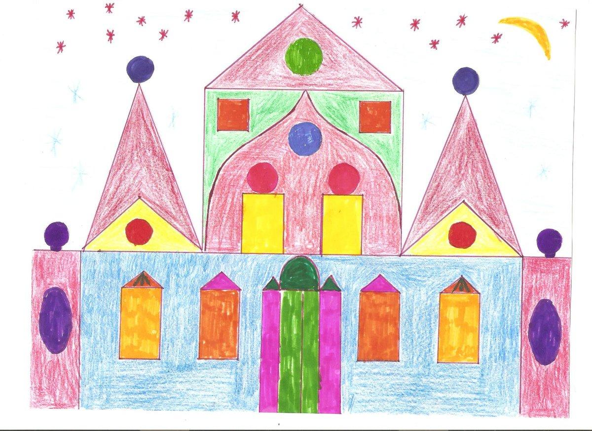 блокнотом картинка по рисованию сказочный дворец свежего дуновеньем