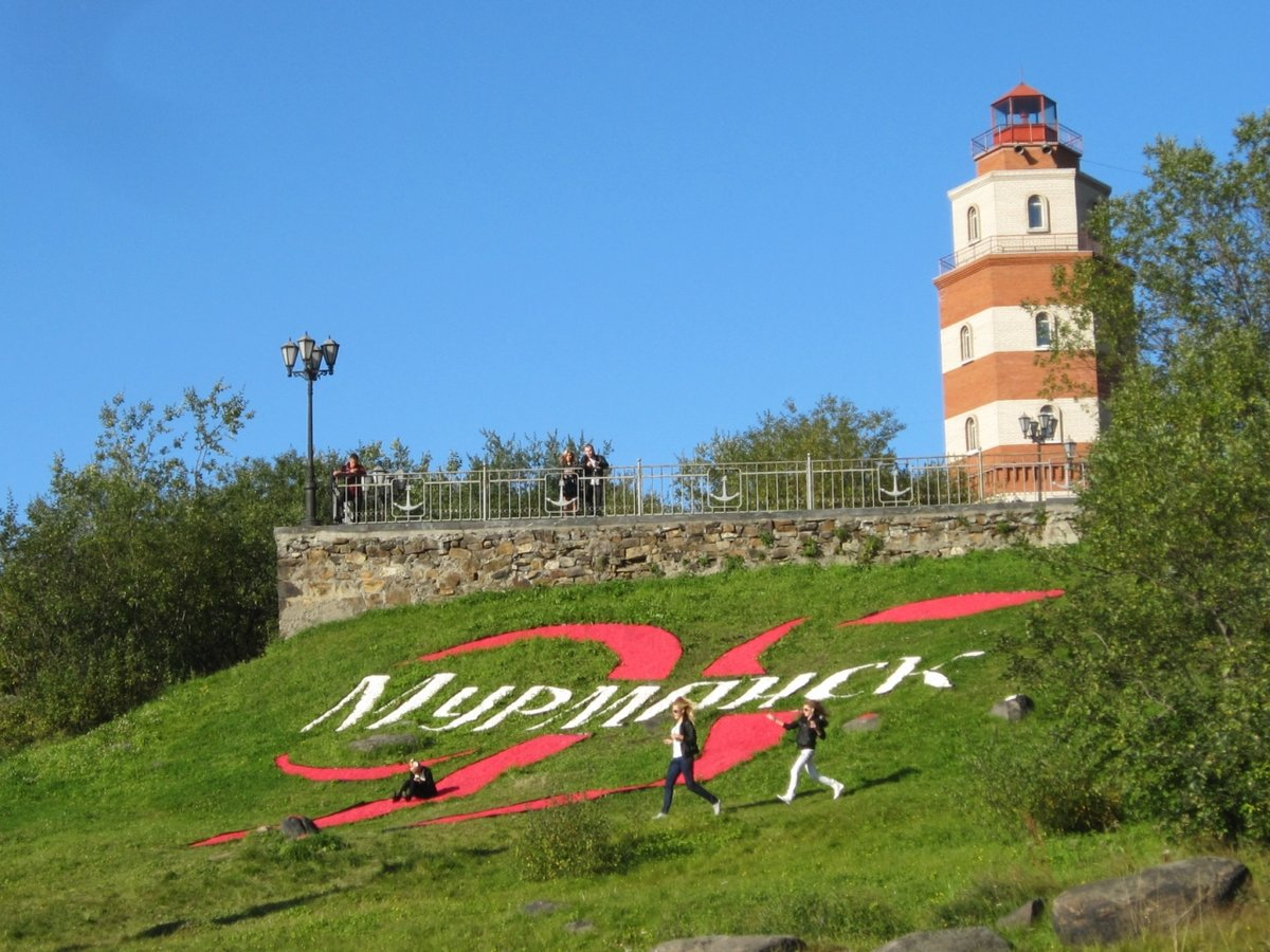 рисунок мурманский маяк фото такой снимок