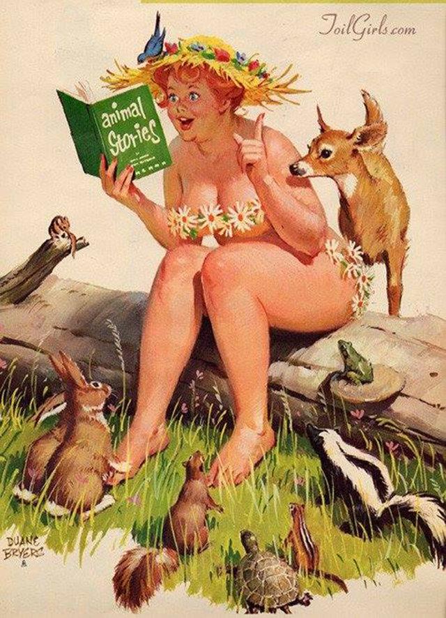 Днем рождения, открытки про дурных баб