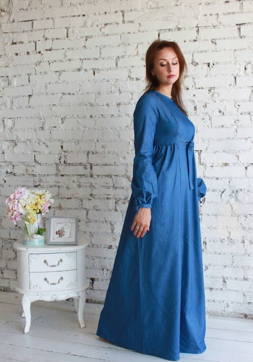 b63f0191ed1d43a Стильные джинсовые платья » — карточка пользователя vitalife88v в ...