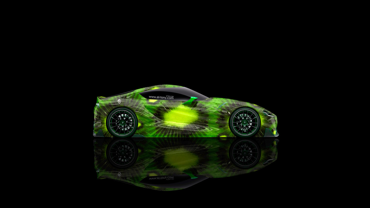 Toyota FT 1 Side Kiwi Aerography Car 2015
