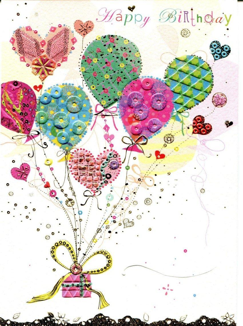 Юбилеем, концептуальные открытки с днем рождения