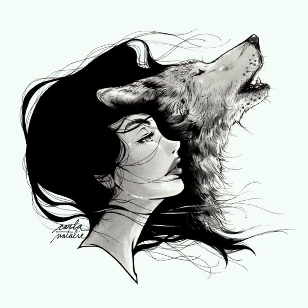 Птенчиков, девушка и волк картинки нарисованные