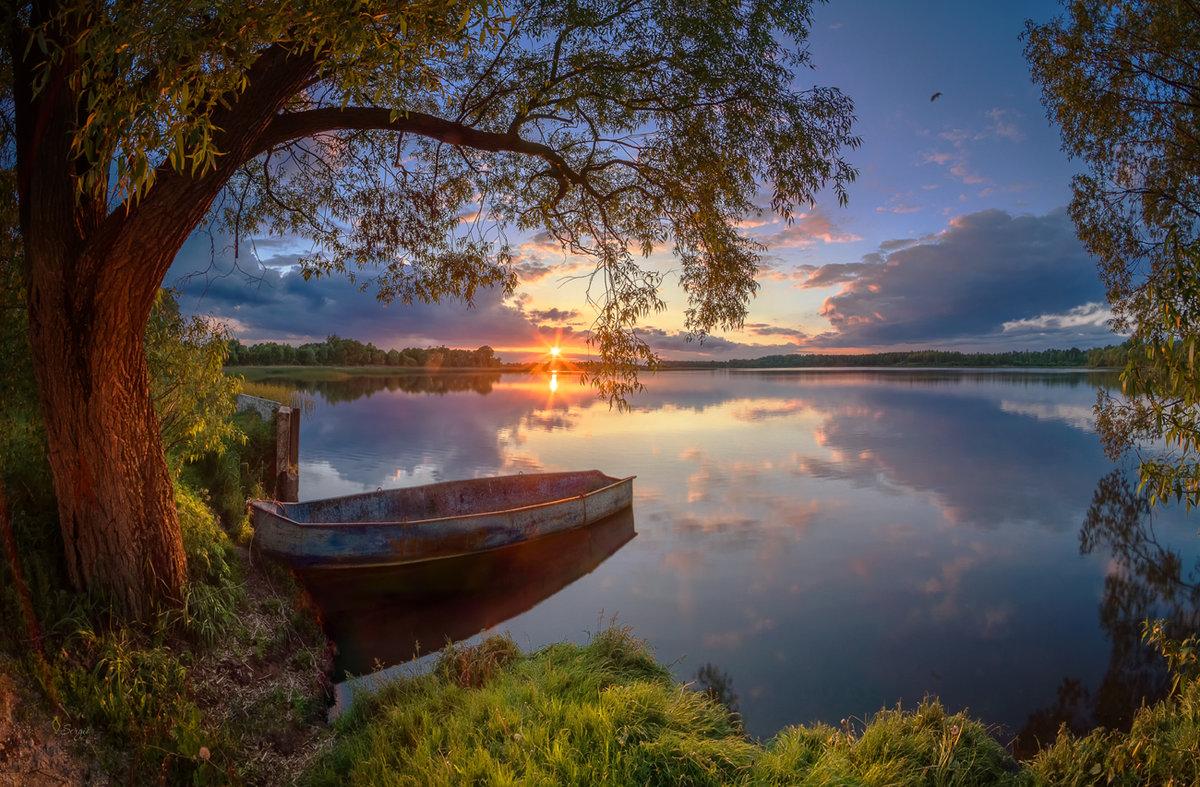 Добрый вечер картинки с природой, открытки