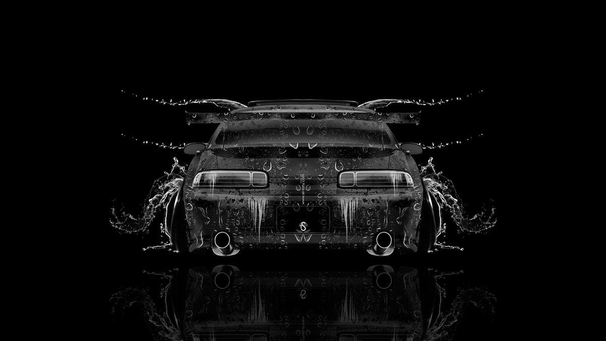 Toyota Soarer JDM Back Water Car 2014 Black