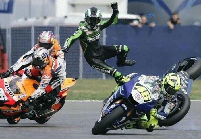 Прикольные картинки про мотоциклистов с надписями