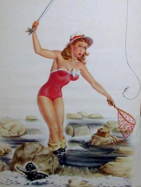 любых картинки пин ап рыбалка огонь