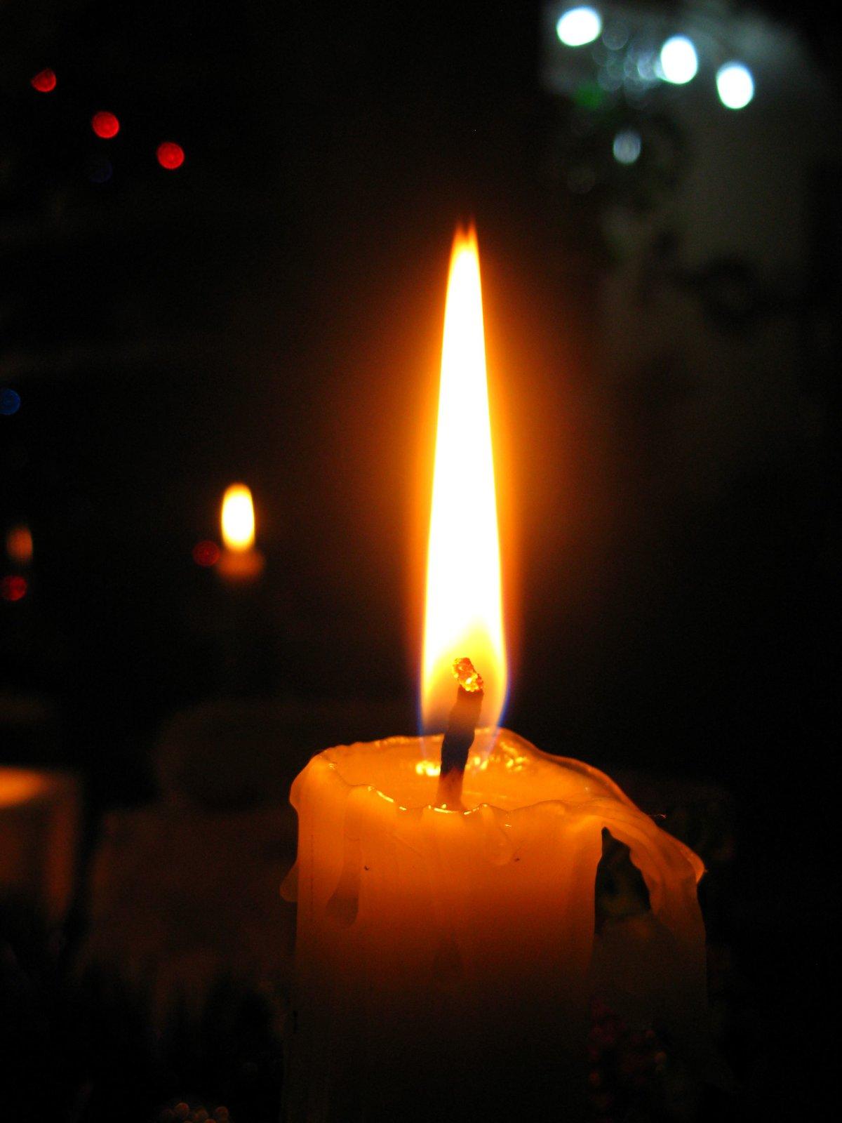 Картинки свеча горит