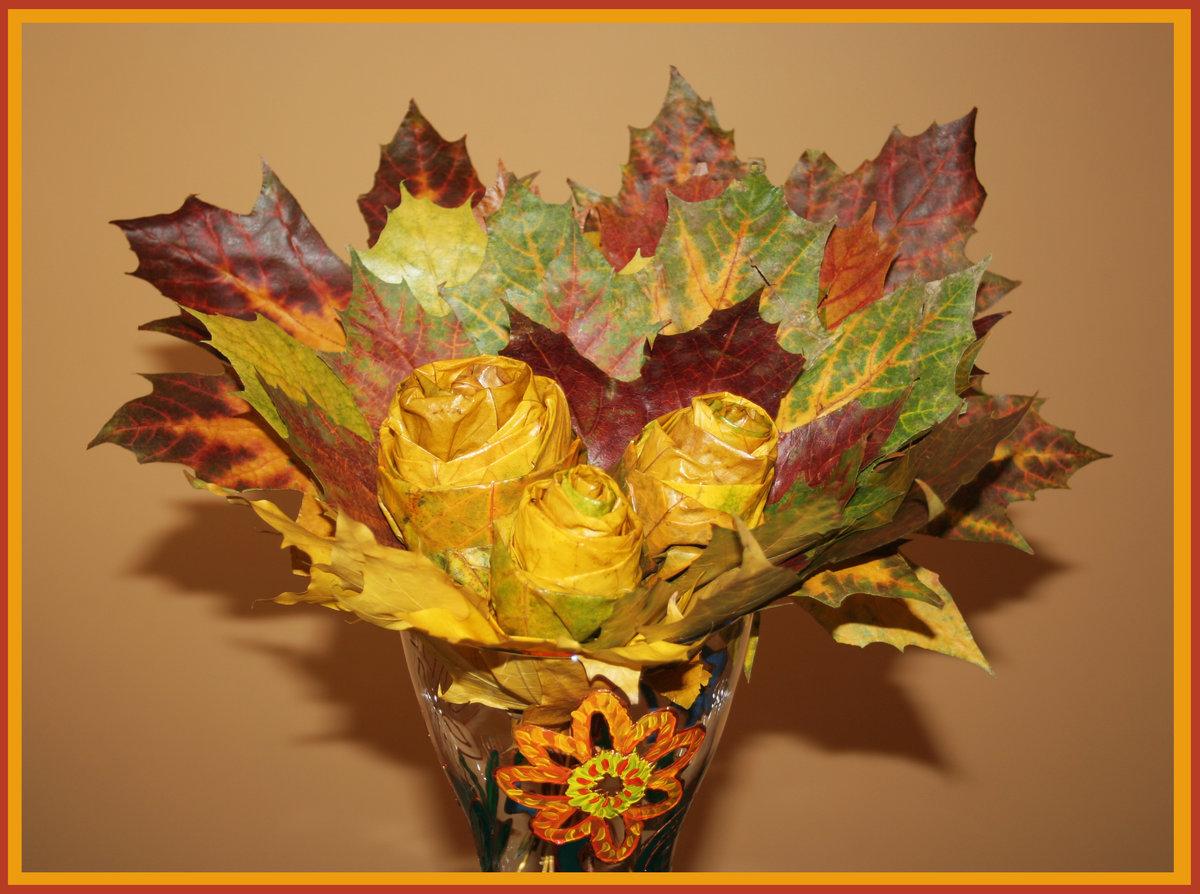 Роз, букет для осеннего бала