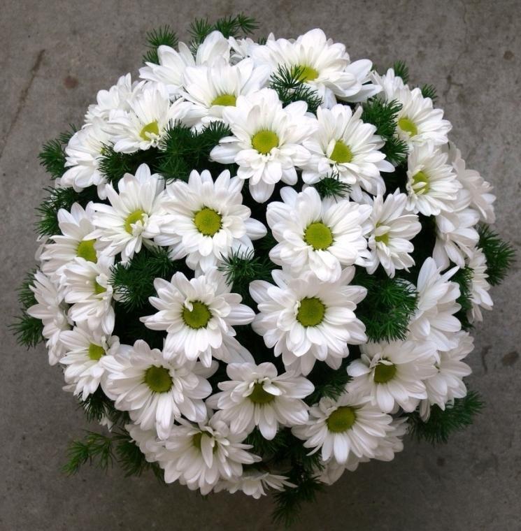 Букет овощей, кустовая хризантема свадебный букет