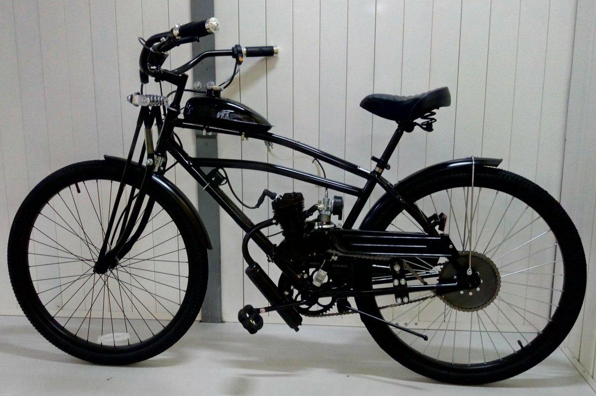 Комфортный велосипед с мотором