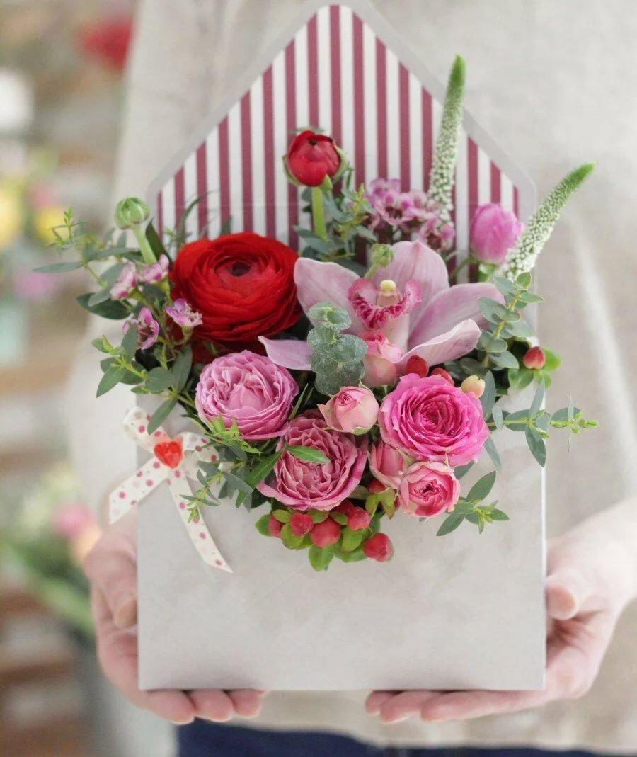 Как сделать живую открытку с цветами, летием марину