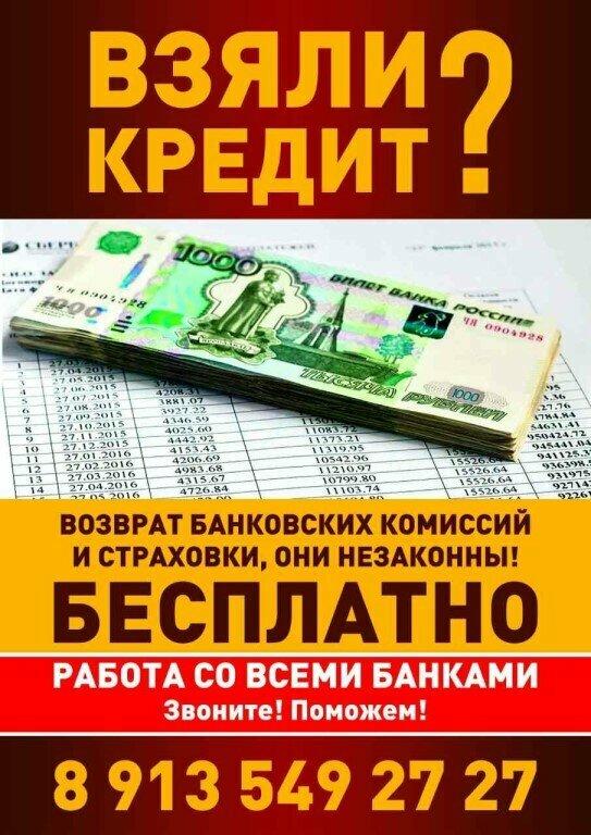 кредитная комиссия банка