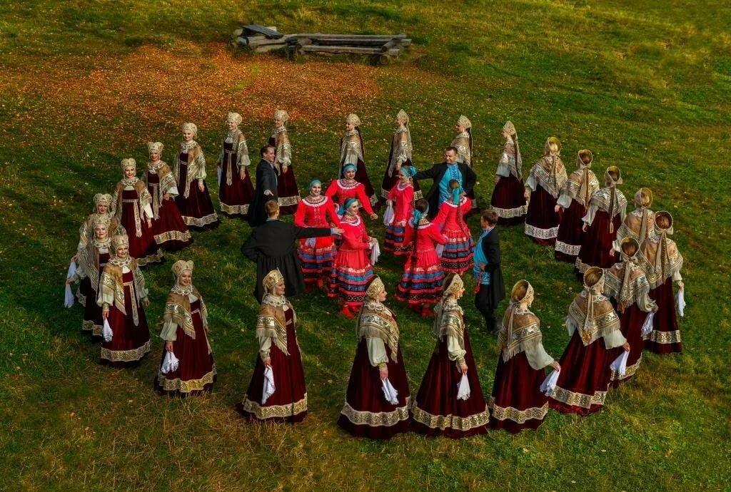 Картинки русский хороводы