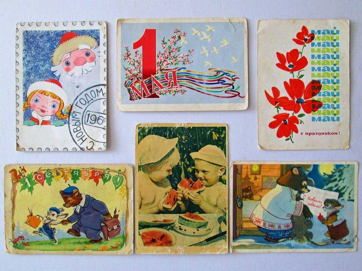 Прикольные, почтовые открытки 40-х