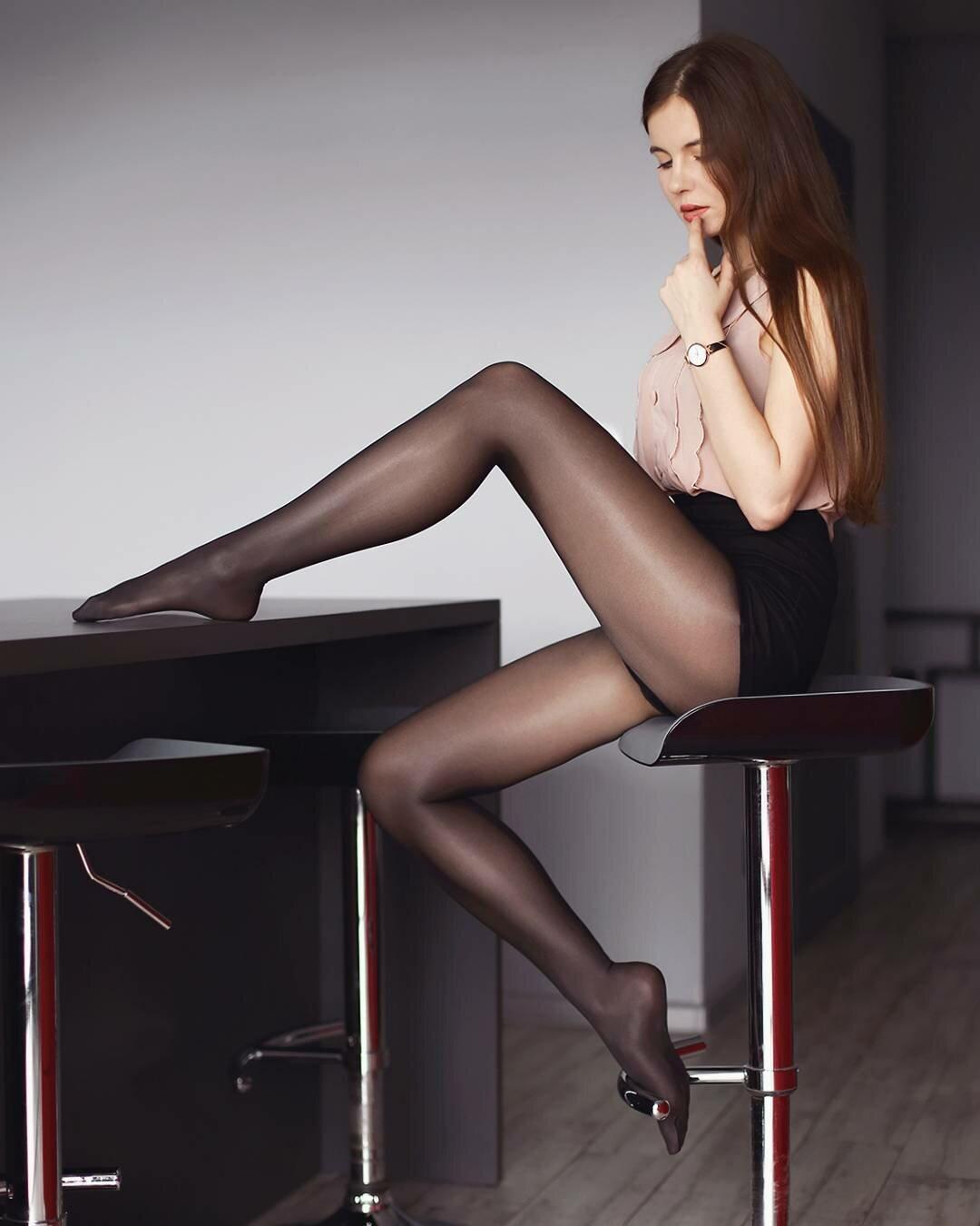 фотосет ножки в колготках чулках